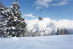 Hotel Sole Alto – 5denní lyžařský balíček se skipasem a dopravou v ceně***18
