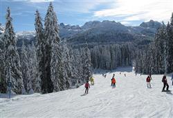 Hotel Sole Alto – 5denní lyžařský balíček se skipasem a dopravou v ceně***14