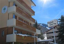 Hotel Derby - 6denní lyžařský balíček s denním přejezdem a skipasem v ceně***3