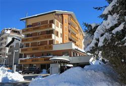 Hotel Derby - 6denní lyžařský balíček s denním přejezdem a skipasem v ceně***1