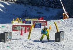 Hotel Erica - 5denní lyžařský balíček se skipasem a dopravou v ceně***12