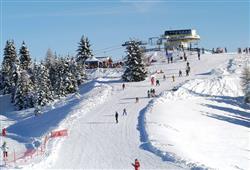 Hotel Erica - 5denní lyžařský balíček se skipasem a dopravou v ceně***14