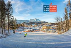 Hotel Erica - 5denní lyžařský balíček se skipasem a dopravou v ceně***0
