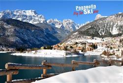 Hotel Aurora Paganella - 5denní lyžařský balíček se skipasem a dopravou v ceně***0