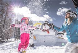 Hotel Comelico - 5denný lyžiarsky balíček so skipasom a dopravou v cene***29