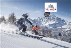 Hotel Comelico - 5denný lyžiarsky balíček so skipasom a dopravou v cene***0
