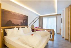 Alpotel Dolomiten – 6denní lyžařský balíček se skipasem a dopravou v ceně***2