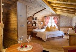 Alpotel Dolomiten – 6denní lyžařský balíček se skipasem a dopravou v ceně***5