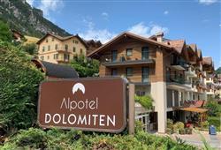 Alpotel Dolomiten – 6denní lyžařský balíček se skipasem a dopravou v ceně***1