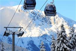 Alpotel Dolomiten – 6denní lyžařský balíček se skipasem a dopravou v ceně***18