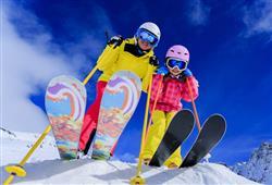 Alpotel Dolomiten – 6denní lyžařský balíček se skipasem a dopravou v ceně***22