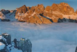 Alpotel Dolomiten – 6denní lyžařský balíček se skipasem a dopravou v ceně***23