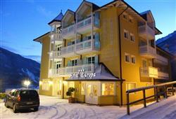 Hotel Europa - 6denný lyžiarsky balíček s denným prejazdom***1