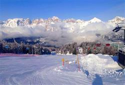Hotely Paganella - různé *** hotely - 6denní lyžařský balíček se skipasem a dopravou v ceně***7