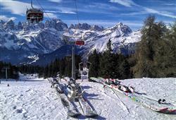 Hotely Paganella - různé *** hotely - 6denní lyžařský balíček se skipasem a dopravou v ceně***10