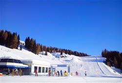 Hotely Falcade - různé *** hotely - 5denní lyžařský balíček se skipasem a dopravou v ceně***3