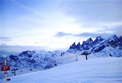 Hotely Falcade - různé *** hotely - 5denní lyžařský balíček se skipasem a dopravou v ceně***9
