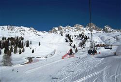 Hotely Falcade - různé *** hotely - 5denní lyžařský balíček se skipasem a dopravou v ceně***16