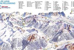 Hotely Falcade - různé *** hotely - 5denní lyžařský balíček se skipasem a dopravou v ceně***1