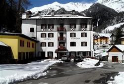 Ubytování v hotelu Europa pouze 50 m od termálních lázní Terme Pejo