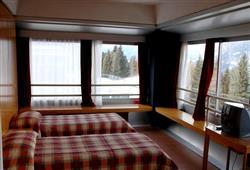 Hotel Sole Alto – 5denní lyžařský balíček se skipasem a dopravou v ceně***5