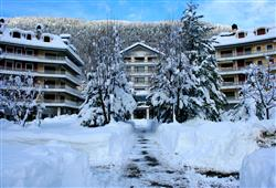 Hotel Urri - 5denní lyžařský balíček s denním přejezdem a skipasem v ceně***1