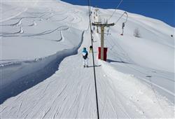 Hotel Girasole - 6denní lyžařský balíček se skipasem a dopravou v ceně***35