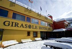 Hotel Girasole - 6denní lyžařský balíček se skipasem a dopravou v ceně***1