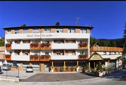 Hotel Piancastello - 5denní lyžařský balíček se skipasem a dopravou v ceně***1