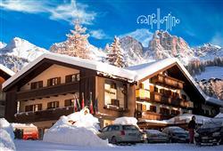 Hotel Arnica - 5denní lyžařský balíček se skipasem a dopravou v ceně****0