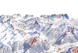 Hotel Scoiattolo - 6denní lyžařský balíček se skipasem a dopravou v ceně***17