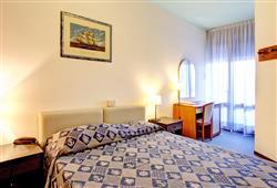 Každý pokoj je klimatizován a má balkon.
