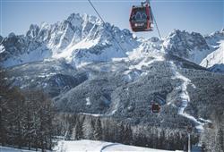 Hotel Sextner Hof - 5denní lyžařský balíček se skipasem a dopravou v ceně***34