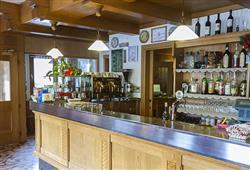 Hotel De Fronz - 5denní lyžařský balíček s denním přejezdem a skipasem v ceně***13