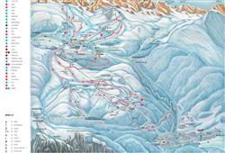 Hotel De Fronz - 5denní lyžařský balíček s denním přejezdem a skipasem v ceně***15