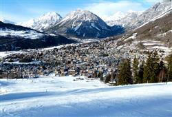 Hotely Bormio - různé *** hotely - 5denní lyžařský balíček se skipasem a dopravou v ceně***11