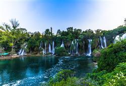 Vodopády Kravica - příležitost ke koupání