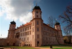 Při prohlídce zámku v Mníšku pod Brdy navštívíte bydlení šlechty na počátku 20. století