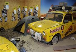 Muzeum je spojeno s osobou Dana Přibána a projektem žlitých trabantů