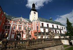 Barokní Broumovský klášter ukrývá řasu bohatství