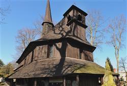 Dřevěný kostelík Panny Marie patří k nejstarším v Evropě