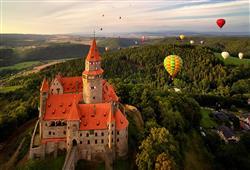 Hradní skvost střední Moravy Bouzov je spojen Řád německých rytířů