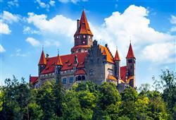Olomoucko/Litovelsko: Javoříčské jeskyně + hrad Bouzov + Loštice + Olomouc0