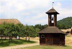Skanzen v Szentendre je největším muzeem pod širým nebem v Maďarsku