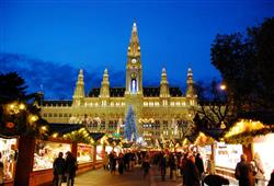 Vánoční trhy na Rathausplatz jsou legendární