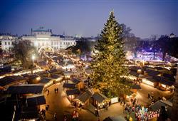 Atmosféra vánoční Vídně vás dostane