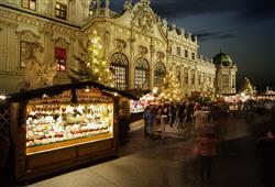 Oblíbené trhy se pořádají také u zámku Schönbrunn