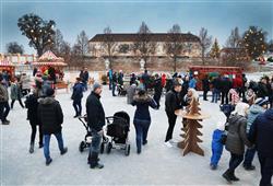 Vánoční zámek Schloss Hof a čokoládovna Hauswirth0