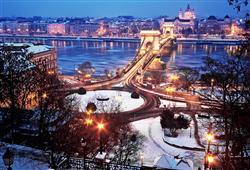 Budapešť v zimě je okouzlující