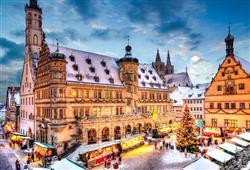 Rothenburg je nejzachovalejší středověké městečko v Bavorsku